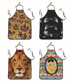 2015 Apron Tiger Funny Wacky Ideas Apron With Front Pocket For Chefs Butchers Kitchen Cooking Craft Uk Baking Home Cleaning Tool Accessories Chef Aprons Black Apron From Jacobwang100, $6.29  Dhgate.Com