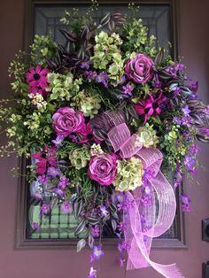 Image result for Elegant Door Wreaths