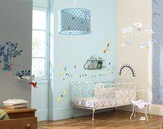 Móvil Cometa, Nubes y Estrellas - Móviles decorativos, banderolas y guirnaldas - Decoración - Minimoi - Minimoi