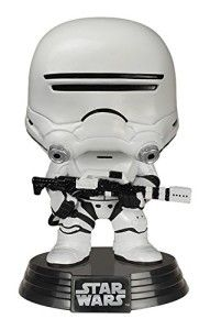 Star Wars 7 First Order Flametrooper Wackelkopf Figur mit Base Funko Pop Vinyl POP! Vinylfigur Star Wars: TFA First Order Flametrooper (POP