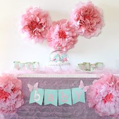 Plan a lovely floral baby shower with these girl baby shower ideas! Get the free cut files to create many of these baby shower decorations and get inspired. Cute Baby Shower Ideas, Floral Baby Shower, Baby Shower Themes, Cricut Baby Shower, Baby Shower Cakes, Summer Crafts For Kids, Summer Diy, Summer Ideas, Unique Baby Girl Gifts