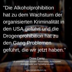 Wo die Alkoholprohibition größtenteils auf die USA beschränkt war, ist die Drogenprohibition weltweit und sorgt auch weltweit zu Problemen. Die einzigen die von einer Prohibition profitieren sind kriminelle Drogenhändler, Gangs und Kartelle.