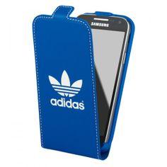 L'étui Samsung clapet bleu Adidas protégera votre smartphone.