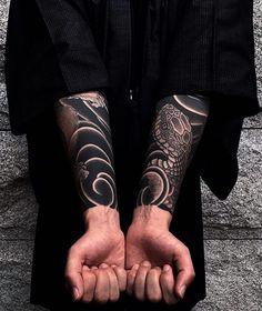 Japanese tattoo sleeves