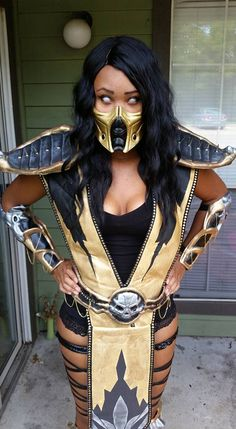 character scorpion cosplayer brittany renee wheeler series mortal kombat
