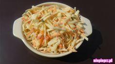 Surówka Colesław Kfc, Coleslaw, Ethnic Recipes, Food, Coleslaw Salad, Essen, Meals, Yemek, Cabbage Salad