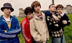 Bowlcuts, wide trousers, bad weather – it's Madchester all over again as Laura Barton spends a day in a field with the makers of Spike Island, a film about a legendary Stone Roses show Stone Roses, Smart Casual, Nico Mirallegro, Uk Culture, Streetwear, Graffiti, Football Casuals, Nova, Acid House
