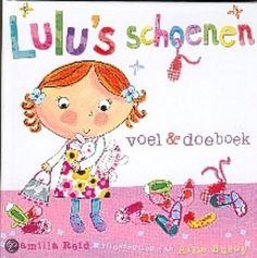 Lulu's Schoenen  Schoenen schilderen/knutselen, gaatjes maken, veters strikken