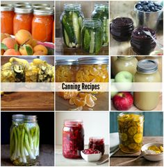 Canning Recipes to try this summer! They all look so good!