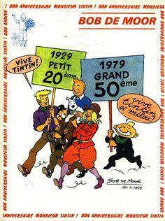 1979 : Bon anniversaire Tintin !