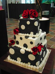 Dalmation cake by sweetobsessions, via Flickr