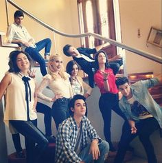 le subliime groupe de la super série Violetta