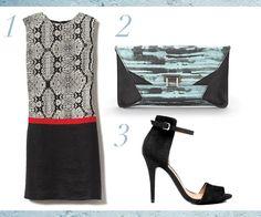 love this Vogue feature on LOFT fancy snake-print color-blocked shift dress, $80 loft.com  (Avail. June 1)