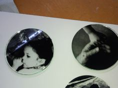 photograph screen printing on glass