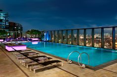 One Of Best Pools In The World - W, Hong Kong.. w-hongkong.com
