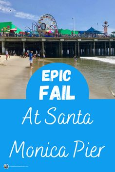 Usually we have a good time when we do things together as a family. This time we didn't. To be fair, it wasn't so much Santa Monica Pier that failed here. It was us, Google Maps, and the whole cast of locals and tourists who joined us for this debacle. #travel #travelfail #traveltips #santamonica #losangeles #santamonicapier #california #somewhereinparticular Feature Article, Los Angeles Area, Family Outing, California Dreamin', Santa Monica, Helping Others, Fails, Travel Tips, It Cast
