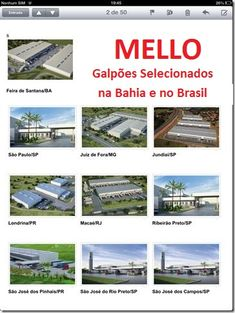 Galpões Selecionados na Bahia e no Brasil !