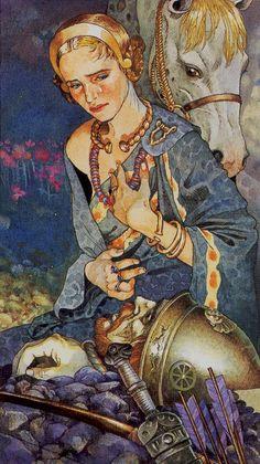 XIV. Temperance: Celtic Tarot
