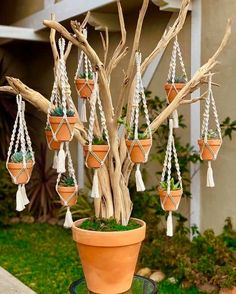 23 ideas for integrated planters and DIY projects The herb garden would be a wonderful addition to a front porch or perhaps a back patio. It would be useful to plant a small garden or even. Succulent Tree, Outdoor Pots, Porche, Macrame Plant Hangers, Judy Garland, Diy House Projects, Diy Planters, Hanging Planters, Cacti And Succulents