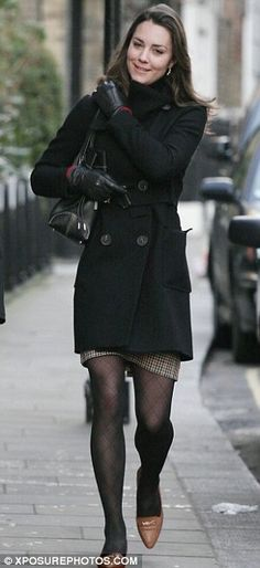"""the-stuff-of-fairy-tales: """" Kate Middleton before engagement and marriage 123/173 """" I finally found some tights that resemble hers in this picture. I'm beyond excited!"""