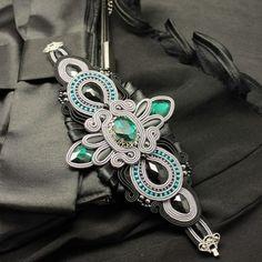 Soutache Bracelet, Soutache Jewelry, Spiritual Jewelry, Prayer Beads, Shibori, Beaded Embroidery, Beading, Jewelry Making, Crafting