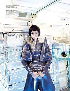 Shenzhou 9 | Grace Guozhi | Marc de Groot #photography | Vogue Netherlands September 2012