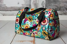 Swoon's Blanche Barrel Bag PDF Sewing Pattern