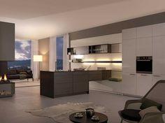 LUNA TOPOS Leicht kitchen for modren apartment