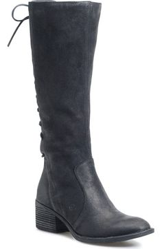 Børn Azurite Knee High Boot (Women) available at #Nordstrom