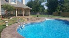 #unitepoolremodelingtulsa, #gunite #mikefourniertulsa, #replasterpool, #ledlight, #poolwaterfalls, #decorativeconcretetulsa, #poolsunshelf, #pooltanningledge, #poolbubblers, #swimmingpooltile Can we build one for you?  http://sonrisegunitepools.com/