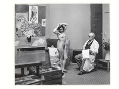 Matisse with his Model | Brassai | V&A Search the Collections
