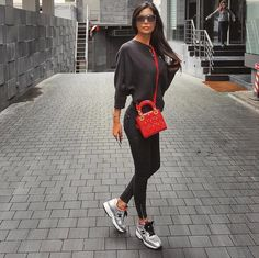 Alice Abdel Aziz wearing #HOGAN #SS16 #Interactive #HoganClub #sneakers Join the #HoganClub #lifestyle and share with us your @hoganbrand pictures on Instagram