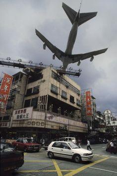 Hong Kong's Kai Tak (closed).