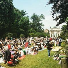 #pixelPicnic la #domenica è Non Riservata! #Milano #picnic #besocial