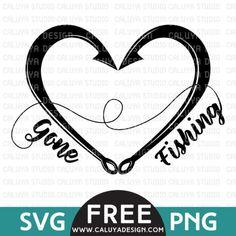 Gone Fishing Free SVG