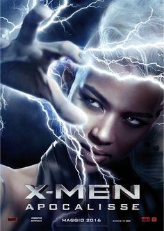 X-Men Apocalypse - Storm. Italian promo poster.