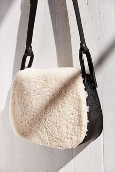 Ecote Shearling Saddle Bag