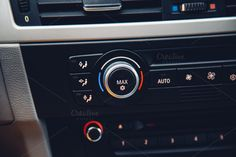 Car air-conditioning by michalkulesza on Creative Market #car #dashboard #bmw