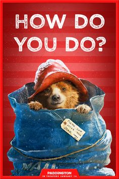 The world's most adorable bear is arriving in theaters on January 16. Treat yourself to a movie night.