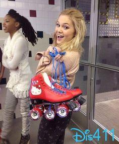 Olivia wore her Hello Kitty skates! Cute! Nice pics from both Olivia ...
