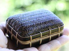 竹虎 虎斑竹専門店竹虎 宝石箱 小物入れ 竹籠 竹 竹細工 bamboo Jewelrybox bamboocrafts