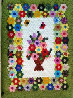 Photo on The Great Hexagon Quilt - Along too!!