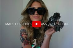 sunglass collection | quayxdesi | quayxchrisspy | how to style your sunglasses | sunglass outfit | how to wear sunglasses | popular sunglasses | fashion blogger sunglasses | closet confidential | vlog