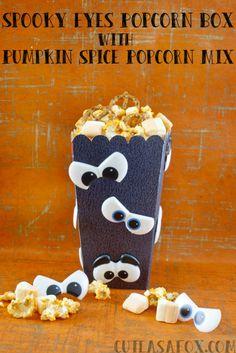 Spooky Eyes Popcorn
