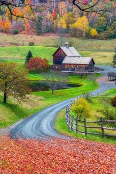 ~~Sleepy Hollow Farm ~ Autumn in the Great Smoky Mountains, Bryson City, North Carolina by Manish Mamtani~~