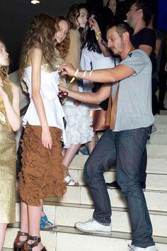 Jonathan Saunders spring 2015 rtw - behind the scenes Lace Skirt, Sequin Skirt, Jonathan Saunders, Spring 2015, Behind The Scenes, Sequins, Skirts, Fashion, Moda