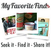 """""""My Favorite Find is like a virtual show-and-tell. You can search for, find, and share great shoppes and events such as antique shows, craft markets, estate sales and more anywhere in the world, and then show-and-tell your finds."""""""