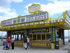 Midway Steak House, Seaside Heights N. Missing my roots:( Italian Sausage Sandwich and a bag of hot fresh Zeppoles with powdered sugar to go please. Best Steak Sandwich, Steak Sandwiches, Jersey Girl, New Jersey, Italian Hot Dog, Hot Dog Place, Italian Sausage Sandwich, Nj Shore, Nj Beaches