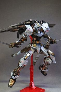 MG 1/100 Astray Gold Frame Kai - Painted Build Like this kit? Get it at Amazon!Images from: fg-site.netWant to see more Gunpla? Check out my Blog!