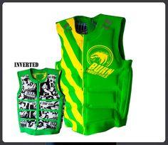 Burn-Industries Evo jetski life vest wakeboard kayak kitesurfing life vest | eBay